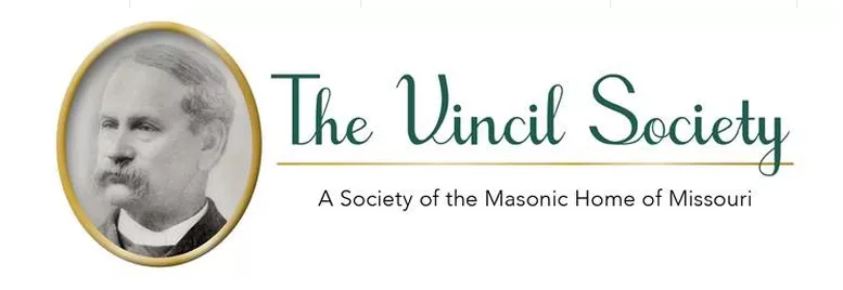 Vincil Society Logo through the Masonic Home of Missouri.