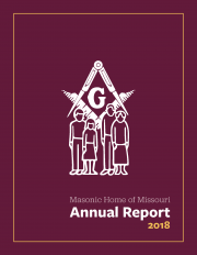 Masonic Home of Missouri 2018 Annual Report