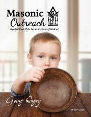 Masonic Outreach Winter 2014 cover image