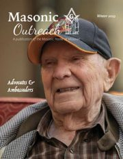 Masonic Home of Missouri Outreach Magazine - Winter 2019 - Cover