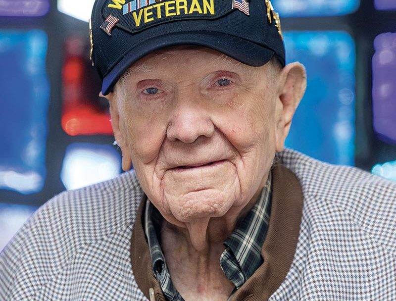 World War II Veteran - Receiving long-term financial assistance through Masonic Home of Missouri
